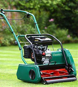 Allett Classic 17L Petrol Cylinder Mower | Plymouth Garden Machinery
